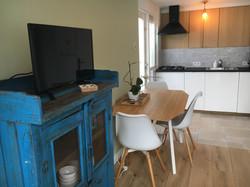 N1 blauwe kastje ne keuken nieuw