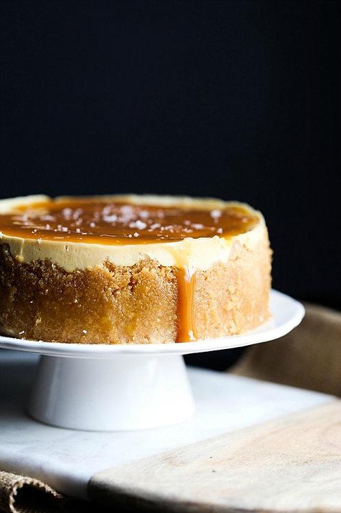 Salted Carmel Cheesecake