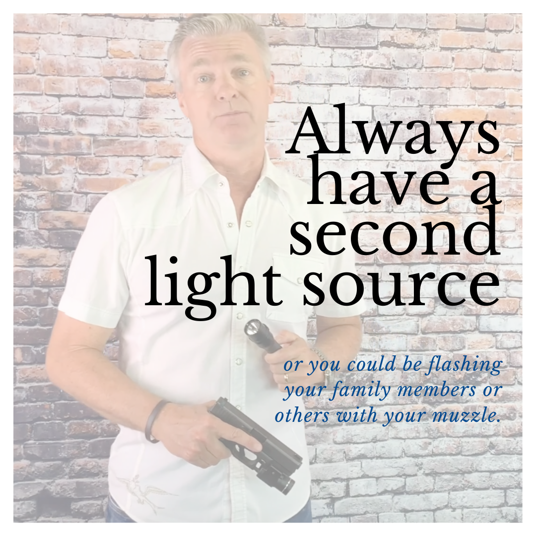%22Always have a second light source%22.