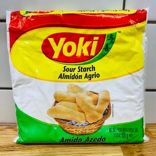 ALMIDON DE YUCA AGRIO
