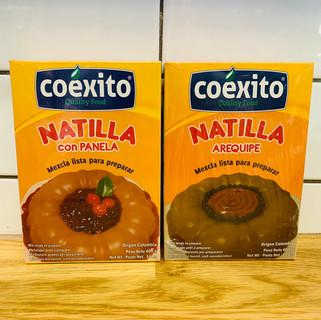 NATILLA CON AREQUIPE/PANELA