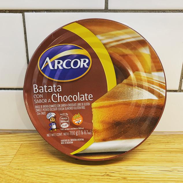 DULCE DE BATATA CON CHOCOLATE