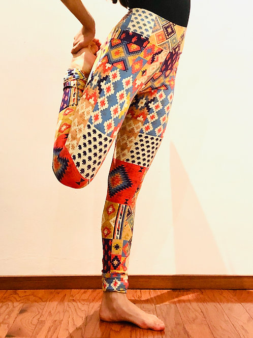 Legging Geometric Patterns