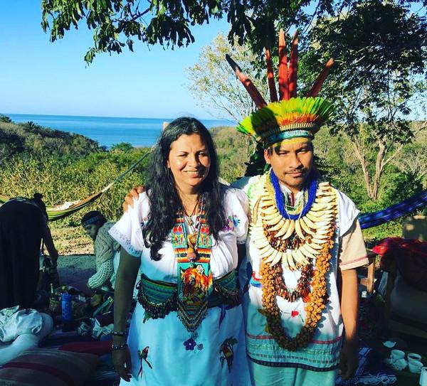 Female Shaman Jairza and Taita Juanito