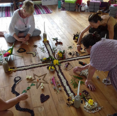 Earth Altar Creating