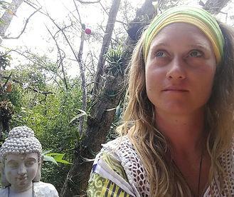 woman buddha luna