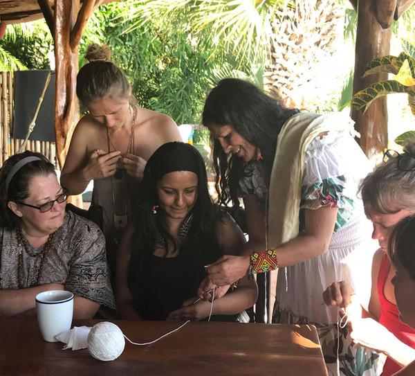Mochila Weaving Workshop