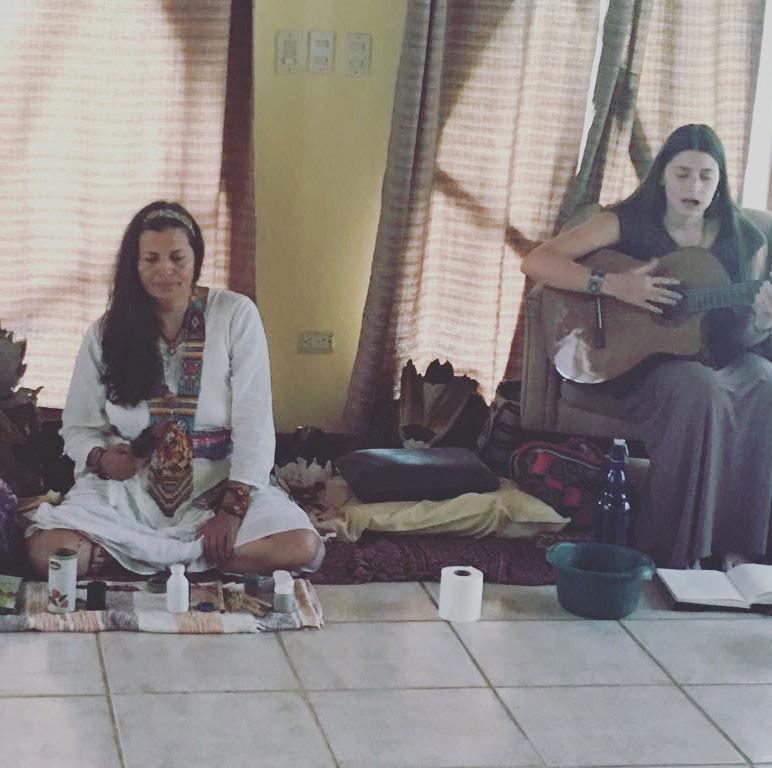Jairza and Maji playing music