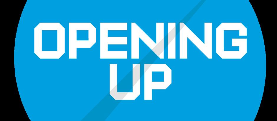 Opening Up - Hampshire Workshop #1