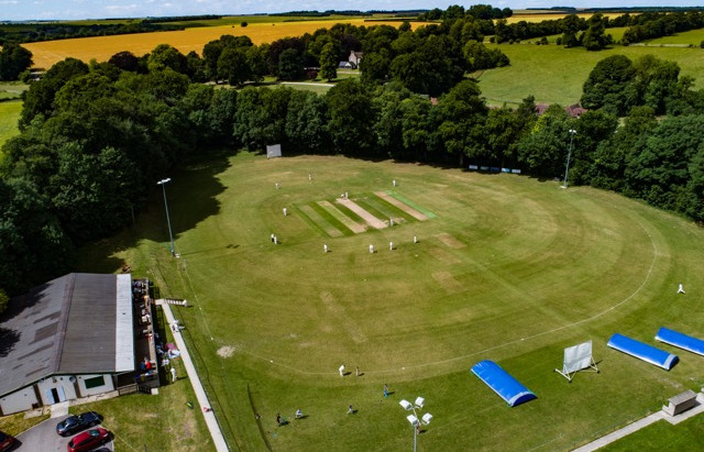 Three on the spin for Second XI