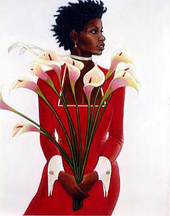 Woman in Red (SALE)