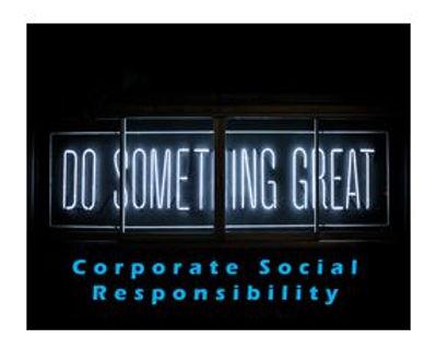CSR-CORPORATE SOCIAL RESPONSIBILITY-BRAN