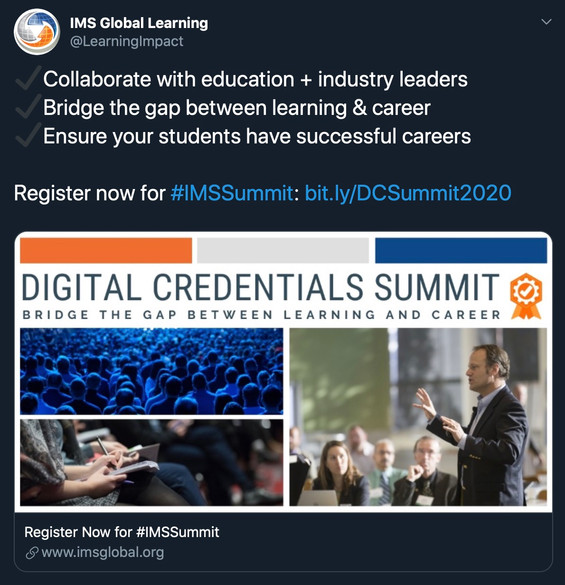 IMS Digital Credentials Summit