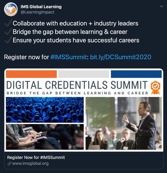 IMS Digital Credentials Summit