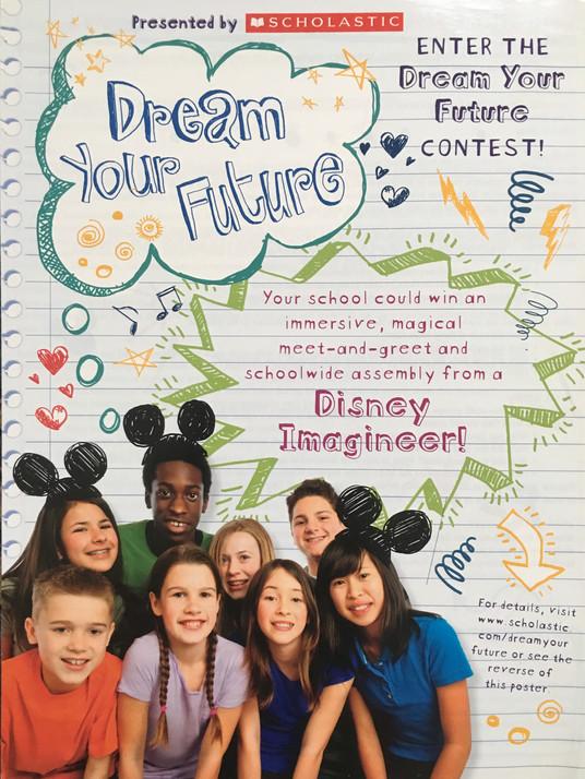 "Disney ""Dream Your Future"" Contest"