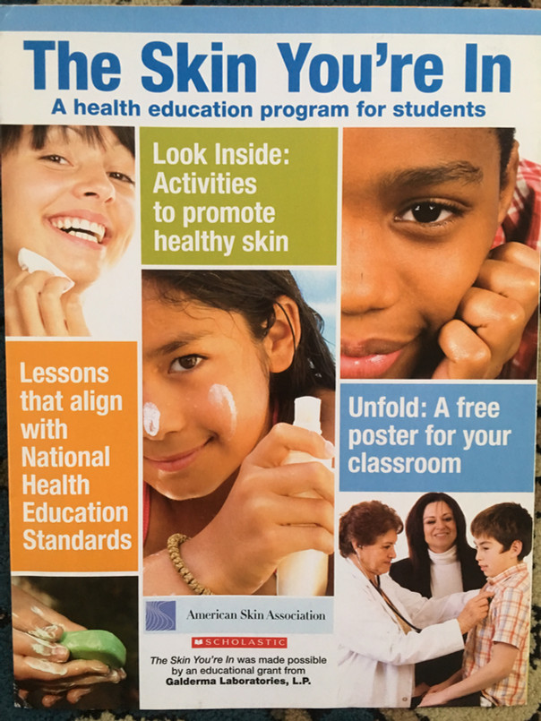 American Skin Association Poster & Teaching Guide