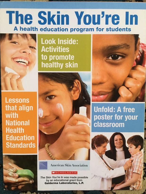 American Skin Association Poster & Teaching Guide