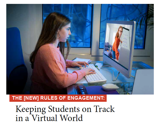 Keeping Students on Track in a Virtual World