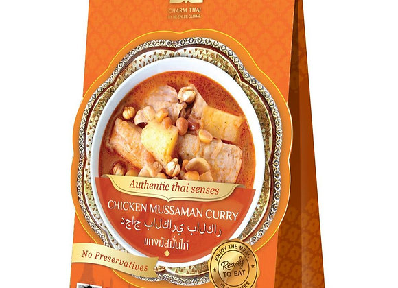 Ready to Eat Massaman Curry; 100% Natural (170g.)