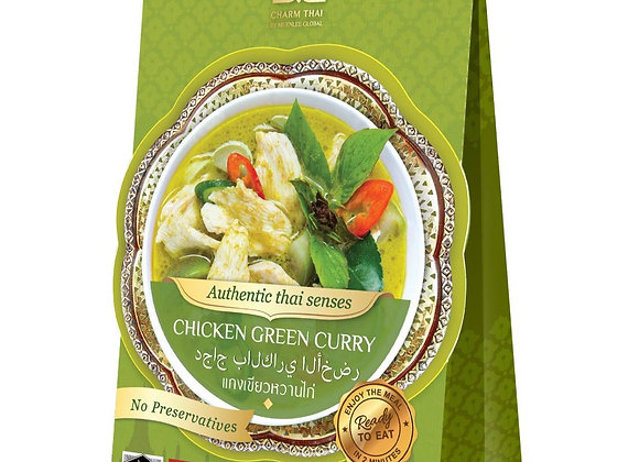 Ready to Eat Green Curry; 100% Natural No additive