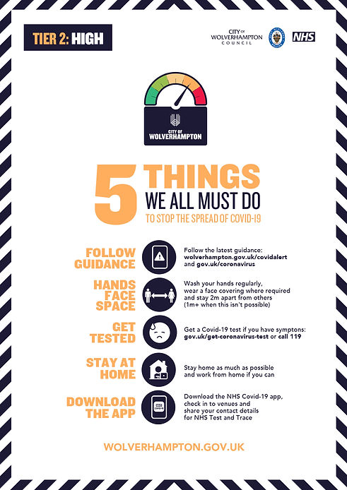 5 things we all can do A4 poster (white
