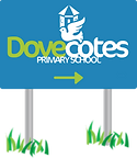 Dovecotes Primary School Sign