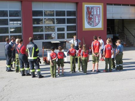 Jugend - 24-h-Tag bei der Feuerwehr