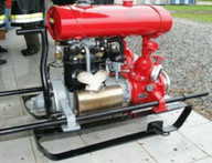 "01. Sep. 1949: Neue Pumpe ""RW80"""