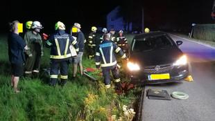 06-T05 Verkehrsunfall Aufräumarbeiten