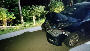 09-T08: Verkehrsunfall Aufräumarbeiten