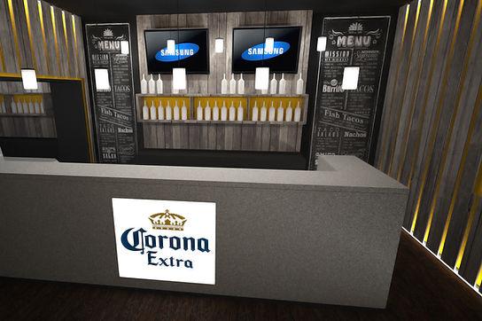 Bar Nousu Kuopio - Corona barin mallinnus ja esityskuvat