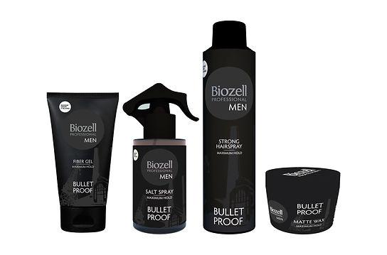 Biozell uuden tuotesarjan esityskuvat ja mallinnos