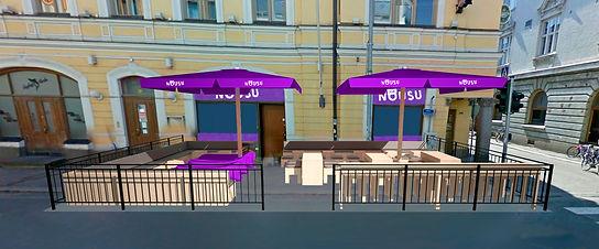 Bar Nousu Kuopio - Terassialueen mallinnus ja esityskuvat