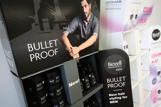 Biozell Bullet Proof - Kampanjateline, pahviteline, dispari