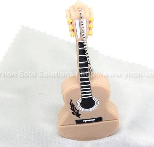 16GB Brown Guitar Keyboard USB [Pack of 1]