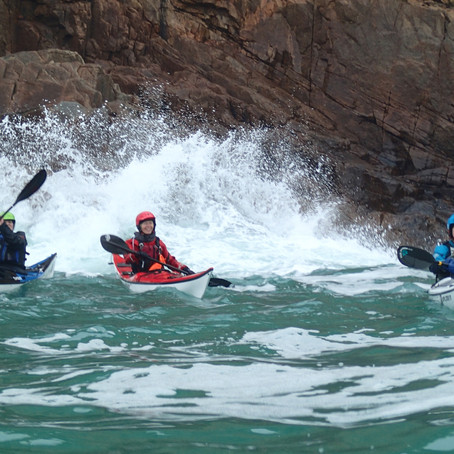 Organising Women's Sea kayak Festival – another side of paddling