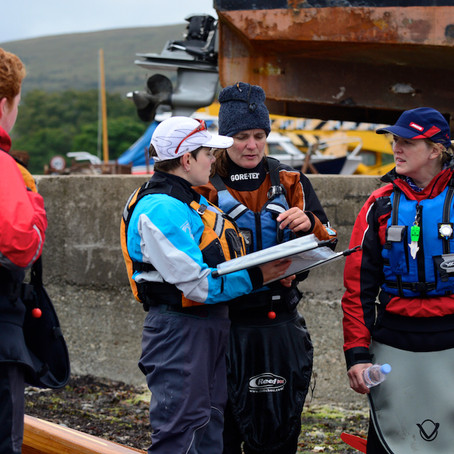 Women's Scottish Seakayaking Festival