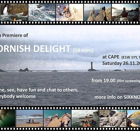 Film Premiere of CORNISH DELIGHT