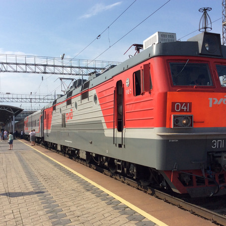 2 477 kilometres and 40 hours on the Trans Siberian Railway