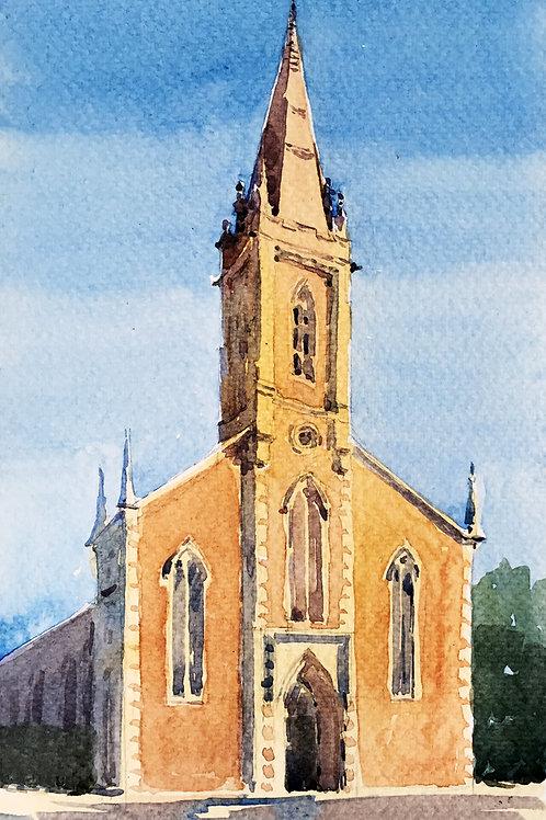St. Sylvester's Church Watercolour