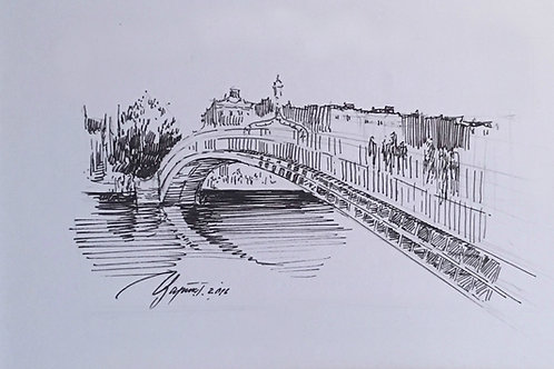 Ha'penny Bridge Ink