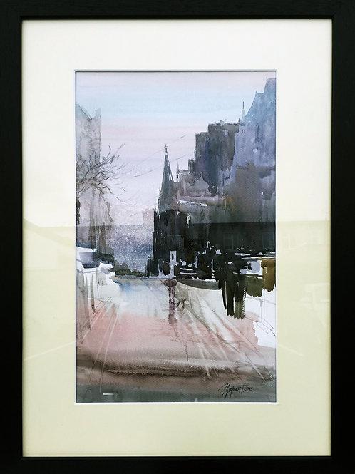 DunLaoghaire Watercolour