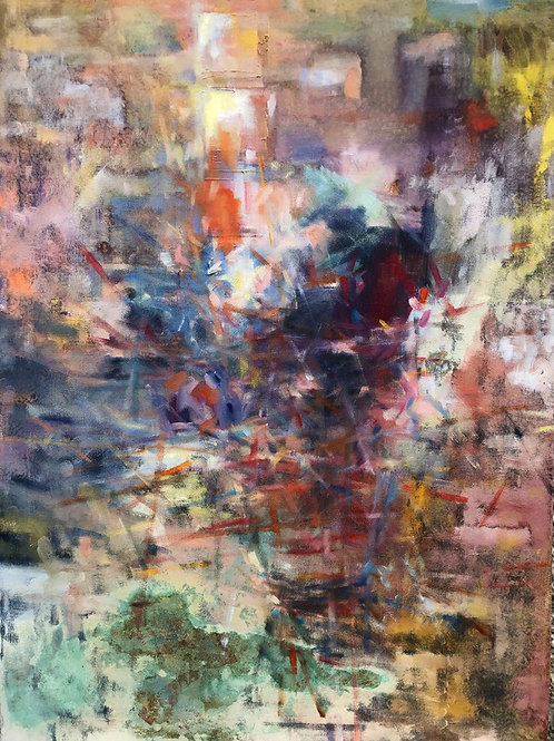 Abstract Dancing Lights