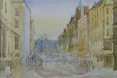 Dame Street. Dublin