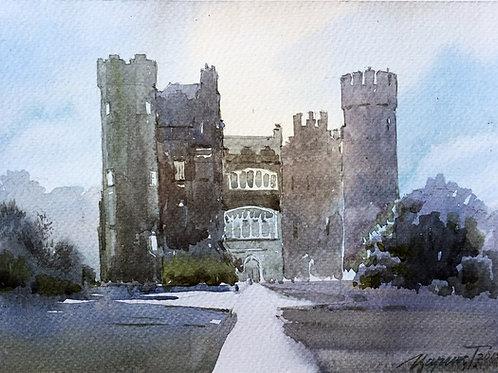 Malahide Castle Watercolour