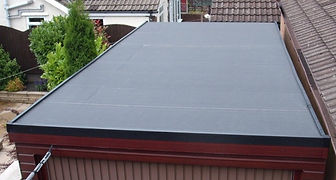 grp flat roofing  fibreglass roofing