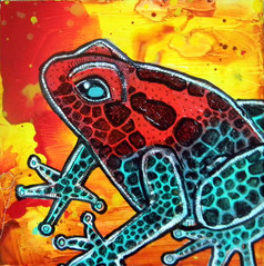 Strawberry Poison Frog II