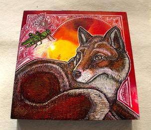 Fox and Grasshopper