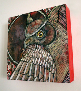 Hunter Moon Owl