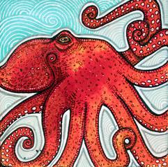 Little Red Octopus
